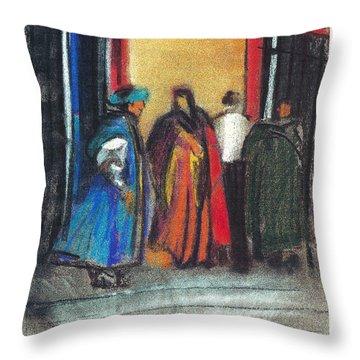 Corteo Medievale Throw Pillow