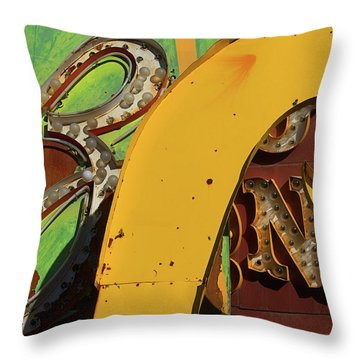 Throw Pillow featuring the photograph Cortez by Skip Hunt