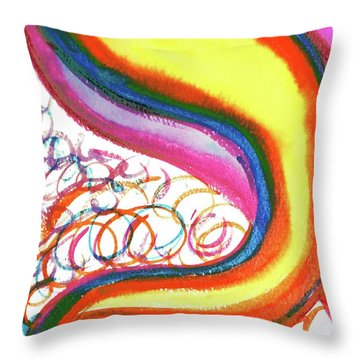 Cosmic Caf Ca4 Throw Pillow