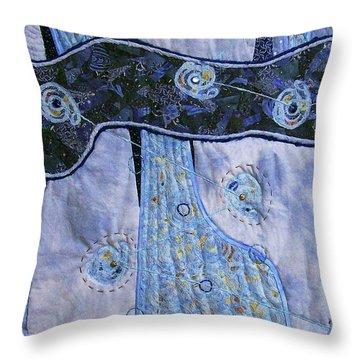 Cosmic Connectivity Throw Pillow