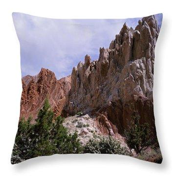 Cottonwood Spires 2-sq Throw Pillow