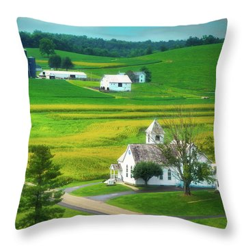 Worship Throw Pillows