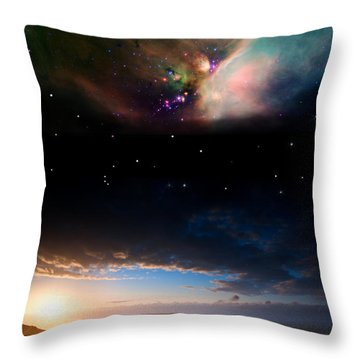 Celestial Throw Pillows