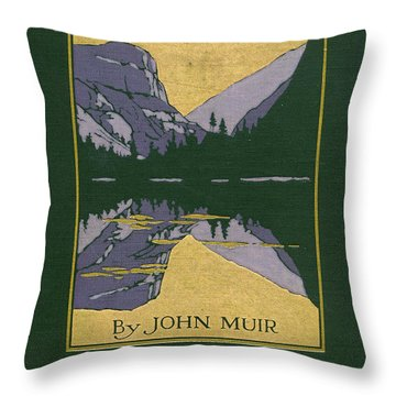 Cover Design For The Yosemite Throw Pillow