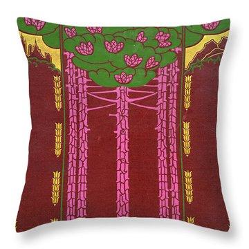 Cover Design For Canada Throw Pillow