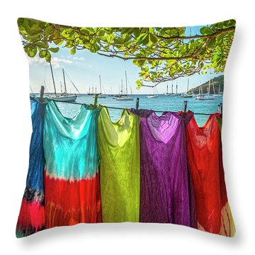 Coverup Throw Pillow