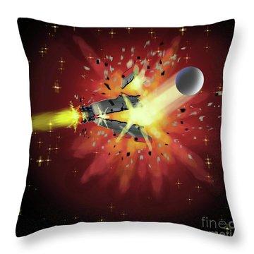 Crash Throw Pillow