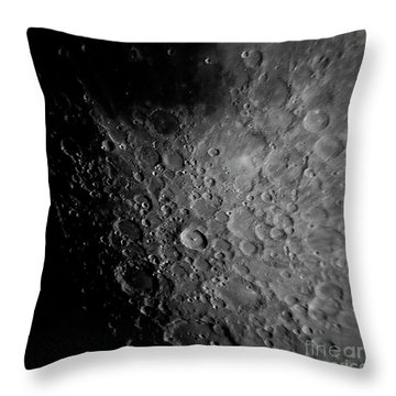Crater Tyco Throw Pillow