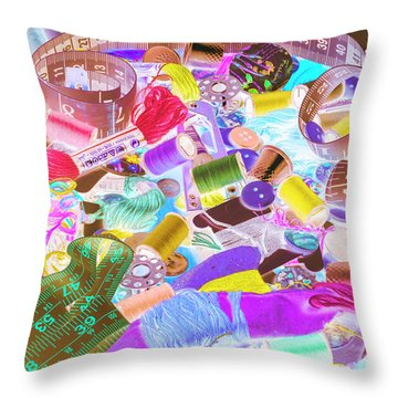 Creative Clothing Craft Throw Pillow