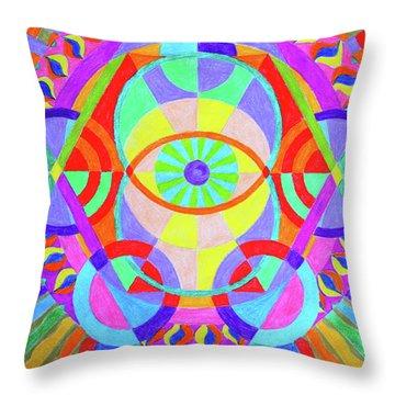Creative Vision Throw Pillow