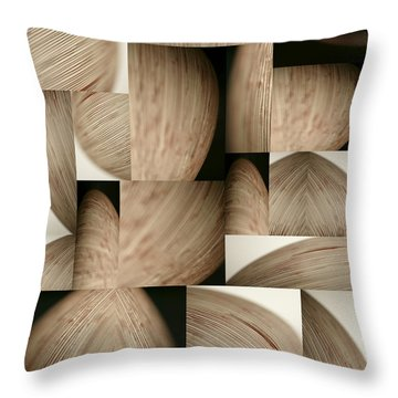 Throw Pillow featuring the photograph Crescents by Mark Shoolery