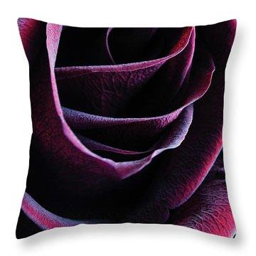 Crimson Queen Throw Pillow