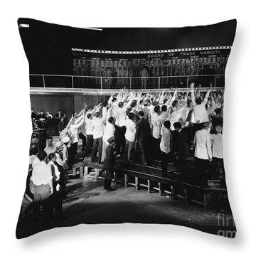 Enthusiasm Throw Pillows