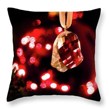Crystal Bell Throw Pillow