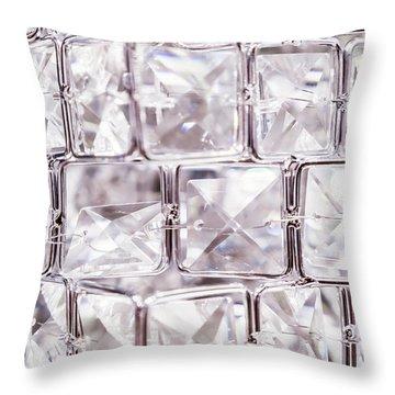 Crystal Bling IIi Throw Pillow