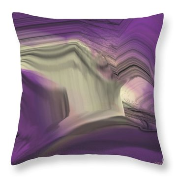 Crystal Journey Throw Pillow