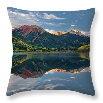 Crystal Morning Throw Pillow