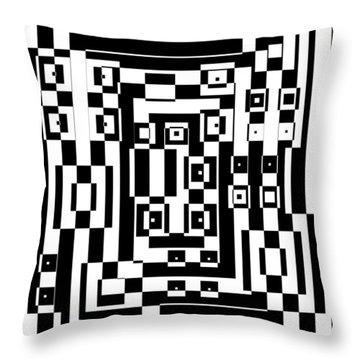 Cubical Cubes  Throw Pillow