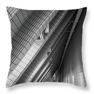 Cultural Centre Hong Kong Throw Pillow
