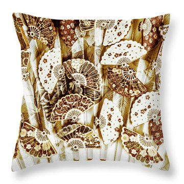 Cultural Costume Craft Throw Pillow