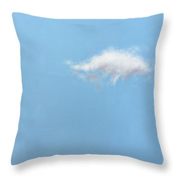 Cupola And Cloud Throw Pillow