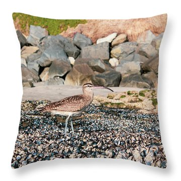 Curlew Throw Pillow