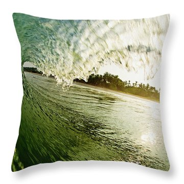 Throw Pillow featuring the photograph Curtain by Nik West