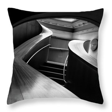 Curves  Throw Pillow