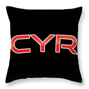 Cyr Throw Pillow