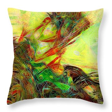 Da1  Throw Pillow