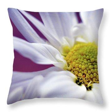 Daisy Mine Throw Pillow
