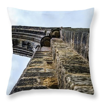 Dale Abbey Throw Pillow