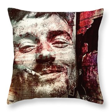 Damien Rice Throw Pillow