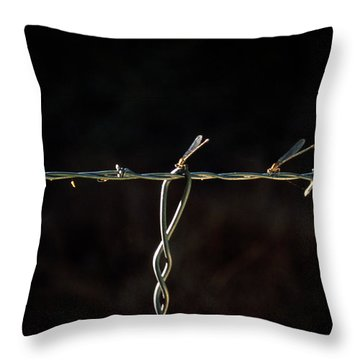 Damsels In Distress  Throw Pillow
