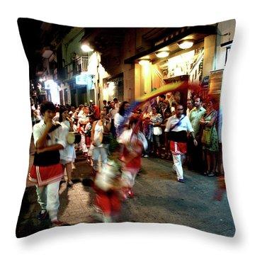 Dancers Throw Pillow