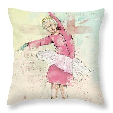 Dancing Queen Throw Pillow
