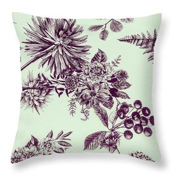 Dandelion Design Throw Pillow