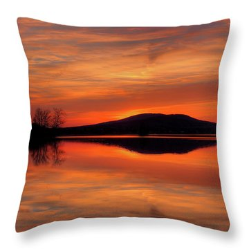 Dan's Sunset Throw Pillow
