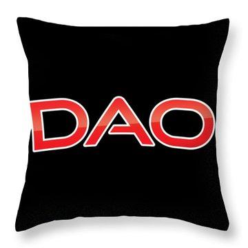 Dao Throw Pillow