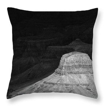 Dark Grand Canyon Throw Pillow
