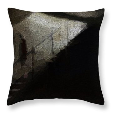 Darkness Welcomes You Throw Pillow