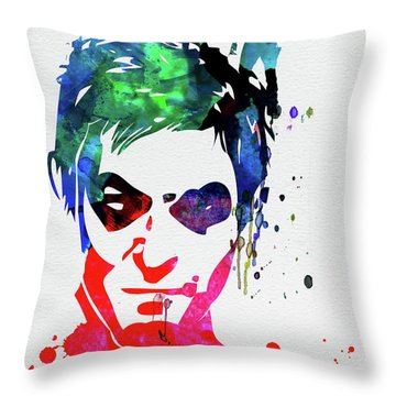 Daryl Watercolor II Throw Pillow