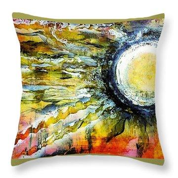 Dawn Of A New Sun Throw Pillow