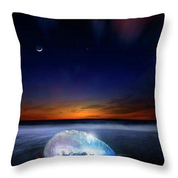 Dawn Of A Warrior Throw Pillow