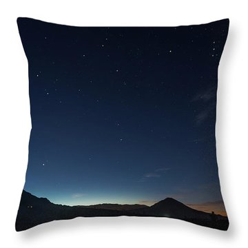Dawn's Early Light Throw Pillow
