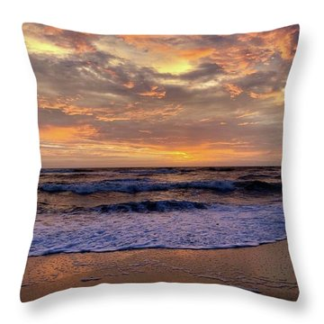 Day After Storm 9/16/18 Throw Pillow