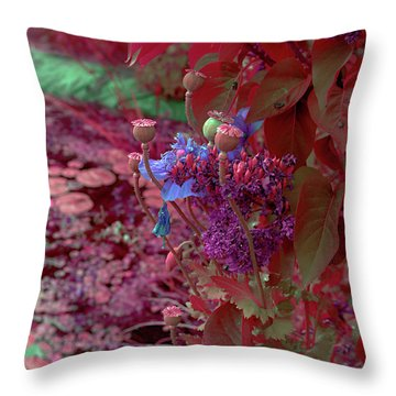 Day Of Red Throw Pillow