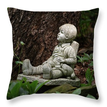 Throw Pillow featuring the photograph Daydreaming by Dale Kincaid