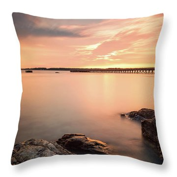 Days End Daydream  Throw Pillow