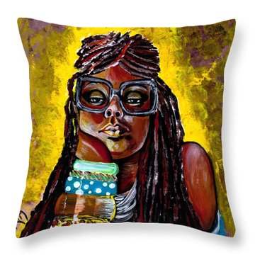 Daze Like This  Throw Pillow